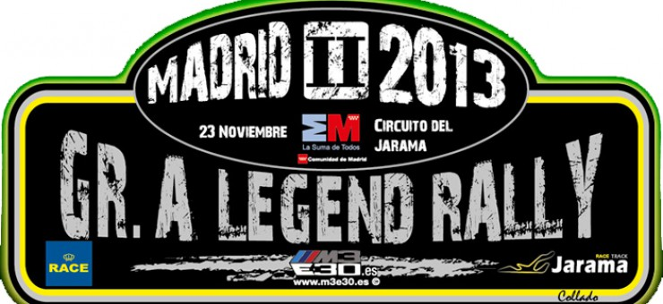 Análisis final Rallye RACE Comunidad de Madrid 2013, II Gr A Legend Rally