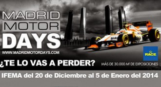 Madrid Motor Days 2013, escucha: te desvelamos todos los secretos